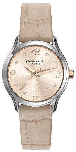Pierre Cardin Reloj Analogico para Mujer de Cuarzo con Correa en Cuero PC108162F01