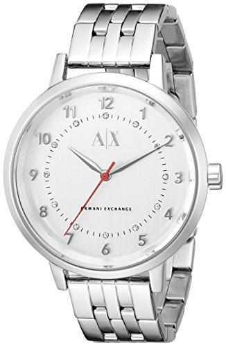 Armani Exchange Payton Analog Silver Dial Women's Watch - AX5360