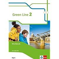 Green Line 2. Ausgabe Bayern: Workbook mit Audios 6. Klasse (Green Line. Ausgabe für Bayern ab 2017)