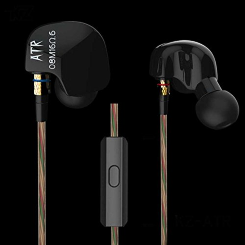 Busirde Für KZ ATR 3.5mm In-Ohr-Kopfhörer Earbuds Earplug Stereo Sport Kopfhörer Super Bass Ear -