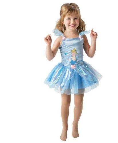Kostüm Cinderella Ballerina Gr. 3-4 Jahre