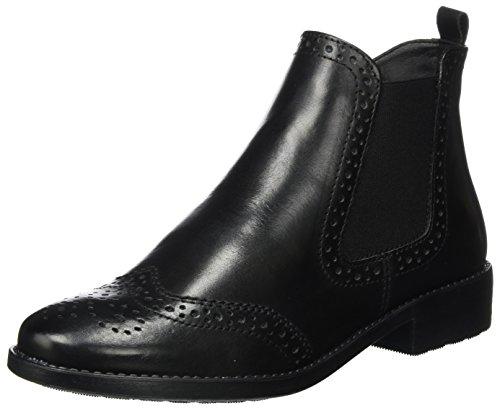 Tamaris Damen 25493 Chelsea Boots, Schwarz (Black Leather), 40 EU