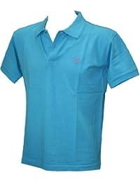 Ton Sur Ton Plain Short Sleeve Polo Top Shirt