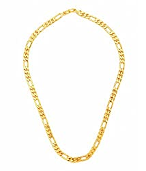 Gold Plated 20 Inches Long THE SACHIN Chain for Men's by GoldNera