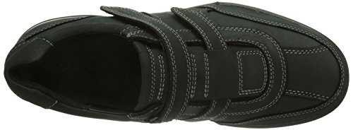 ECCO TRANSPORTER Herren Slipper Schwarz (BLACK/MOONLESS 55869)