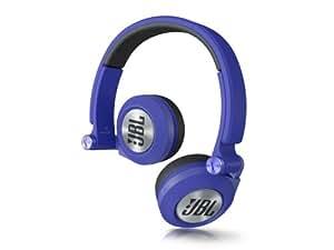 JBL On-Ear Kopfhörer (leistungsstarke, mit drehbaren Ohrmuscheln (3D-Faltpunkte), geeignet für Apple iOS/Android Geräten) blau