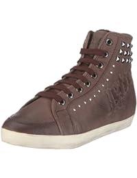 JETTE Fraktur Sneaker Booty 63/12/18589 Damen Sneaker