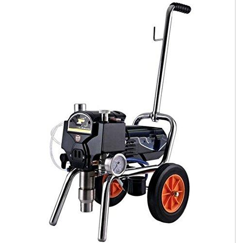 Gowe Airless Pulvérisateur Pulvérisateur de peinture Peinture spray machine Gun Pulvérisateur machine pneumatique avec 15 metres de tuyau en plastique et pistolet