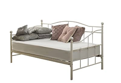 Venice Single Day Bed 3ft white