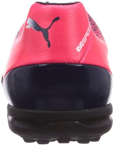 Puma evoSPEED 5.3 TT, Scarpe da calcio Uomo Rosso (Rosso (bright plasma-white-peacoat 05))