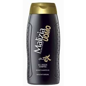 MALIZIA UOMO GOLD - Gel douche & Shampoo 2in1 250ml