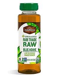 Madhava Agave Nectar Raw 11.75 oz bottle, 1x 11.75 Fl. Oz