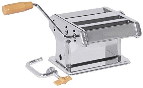 Machine à pâtes, avec geäuse en acier inoxydable 18/0, pour propre Fabrication de pâtes/Dim. : 18 x 19 x 13 cm | erk