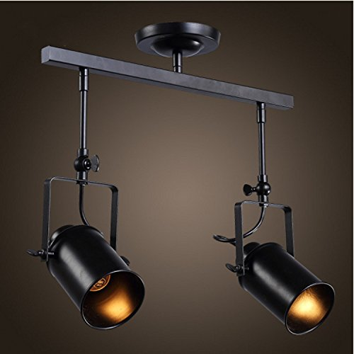 SAEJJ-American retro illuminazione pista loft personalità creative led industriale di ferro wind negozio di abbigliamento bar impostare il soggiorno , luci di testa 2