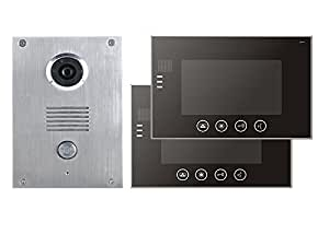 4 Draht Video Türsprechanlage Gegensprechanlage 7\'\' Monitor Klingel ...