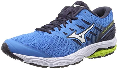 Mizuno Wave Prodigy 2, Scarpe Running Uomo, Blu (Malibu Blue/White/Graphite 16), 41 EU