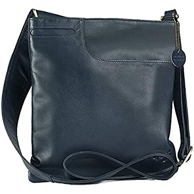 Gigi - Women's Leather Cross Body Handbag - Shoulder Bag with Long Adjustable Strap - Othello 2057