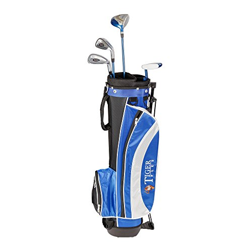 LONGRIDGE, Set da Golf per Principianti 8-11 Anni Tiger Plus, 8-11 Anni