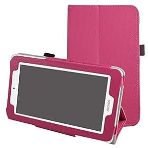 """Archos 70 Xenon Color / 70 Platinum 3G Custodia,Mama Mouth slim sottile di peso leggero con supporto in Piedi caso Case per 7"""" Archos 70 Xenon Color / 70 Platinum 3G Android Tablet PC,Mushroom Fantasy"""