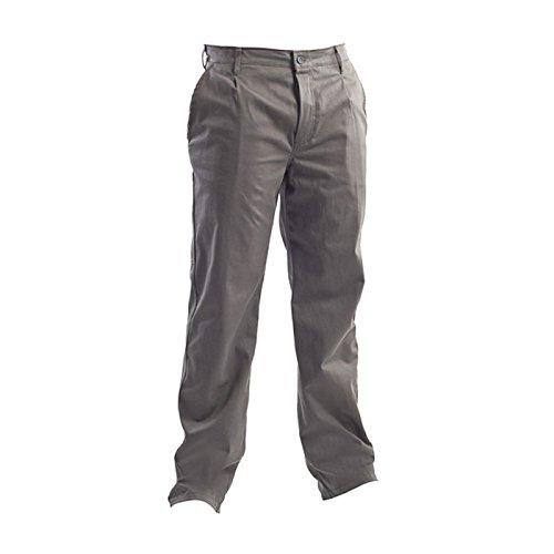 Pantalone Da Lavoro In Cotone Massaua Sanfor 260 Gr/Mq - Grigio, L