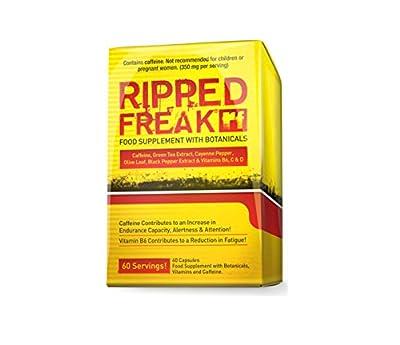 PharmaFreak Ripped Freak Fat Burner Capsules, 60-Count from PharmaFreak