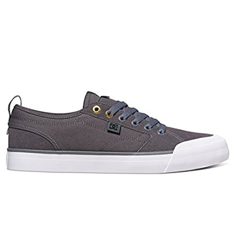 DC – -Uomini Evan Smith S Low Top Scarpe Casual Charcoal