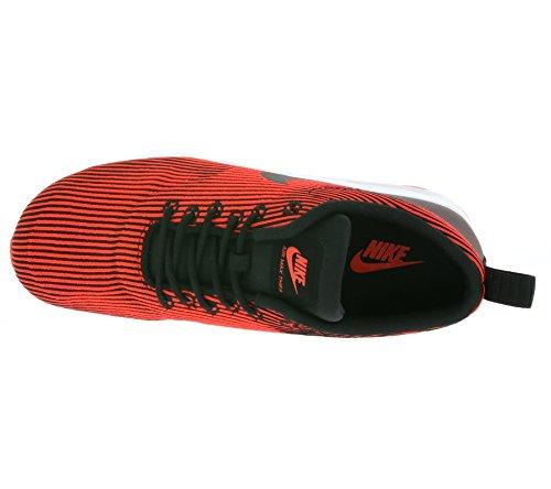 Nike - W Air Max Thea Kjcrd, Scarpe sportive Donna Nero (Negro (Black / Black-Brght Crmsn-White))
