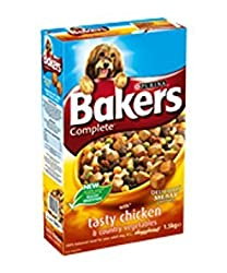 Bakers Complete Chicken & Veg Dog Food 5kg