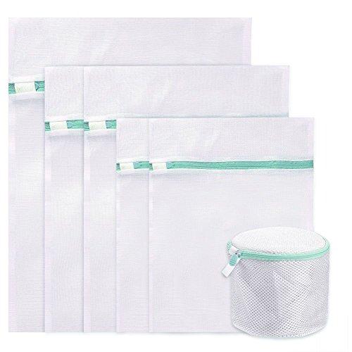 Vanble 6 Stück Wäschenetze Wäschesack Wäschebeutel mit Reißverschluss Wäschetasche für Waschmaschine Ideal für BH, Feinwäsche, Socken, Waschmaschine ,Wäsche, Feinwäsche Spezielle Wäsche
