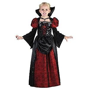 Fyasa Disfraz de vampiro con cuello, tamaño mediano, 706095-T03