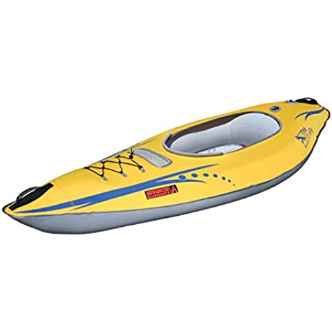 Advanced Elements  - Kayak hinchable, color amarillo, talla 1 Person