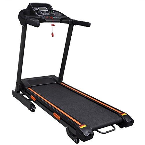 vidaXL Laufband Elektrisch LCD Klappbar Heimtrainer Hometrainer Fitnessgerät