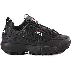Fila Disruptor Low Wmn 1010302-12v, Zapatillas para Mujer, Negro (Black, 40 EU