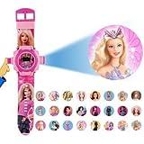 Plutofit Barbie 24 Different Images Projector Watch