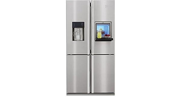 Bomann Kühlschrank Französischer : Beko gne stand alone l a edelstahl kühlschranktür