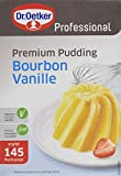 Dr. Oetker Professional Premium Pudding Bourbon-Vanille, Puddingpulver in 1 kg Packung