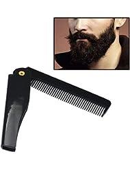 ESAILQ Frisieren Schönheit Folding Bart und Bart Kamm Schönheit Werkzeug für Männer