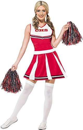 Smiffys costume da cheerleader donna fancy dress