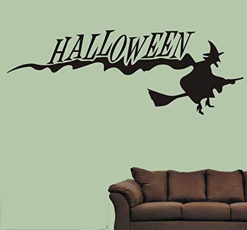 Halloween Hexenbesen Wohnzimmer Schlafzimmer Kreative Wandaufkleber (Hexenbesen Halloween Ein Machen Für Sie)
