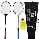 Neulife Badminton Racket with 3 Shuttlecock