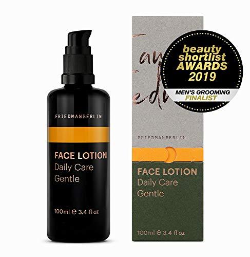 Gesichtspflege für Männer - FRIEDMANBERLIN | Feuchtigkeitscreme mit Anti-Aging Wirkung für den Herren | Inhalt 100ml Gesichtscreme - Shea-butter-formel