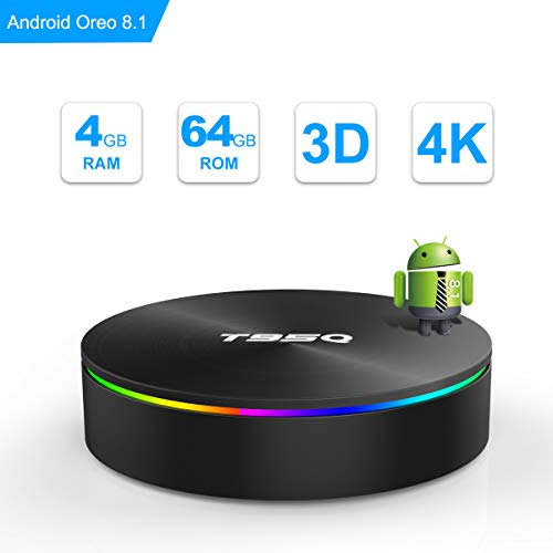 SIDIWEN T95Q Android 8.1 TV Box 4GB RAM 64GB ROM Amlogic