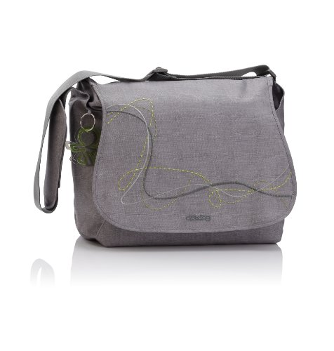 Okiedog Wickeltasche Urban New Sphinx, grau