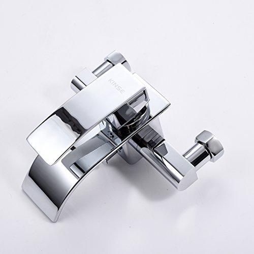 Kinse cromato miscelatore doccia muro rubinetto con doccia palmare soffione per vasca da bagno for Rubinetto vasca da bagno