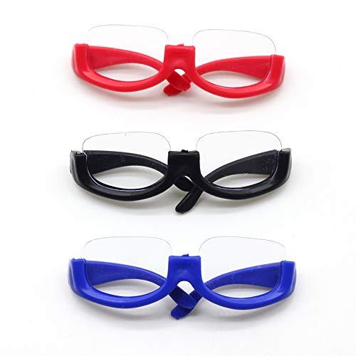 1 Set Rahmen Coole Puppe Brille für BJD Puppe Zubehör Nette Umrandete Brillen