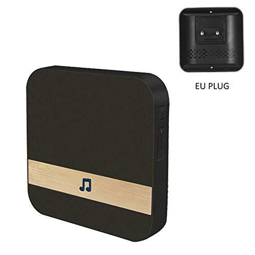 Smart WiFi Video Türklingel Kamera 2Way Wireless Türklingel Intercom APP Telefon Rekord Bild Video Home Security Ding-Dong Empfänger neu, Türklingel Empfänger EU