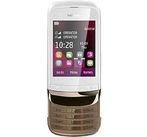 Nokia C2-03 (Golden White)