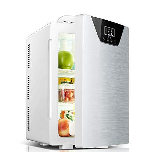 LHAO 20L Auto Kühlschrank, Cools & Heats Persönlicher elektrischer Kühler, tragbarer Compact, Auto Kühlschrank, Road Trips, Wohnungen, Büros und Schlafsäle