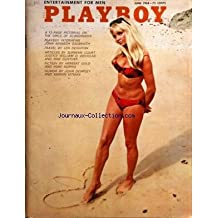 PLAYBOY EDITION US du 01/06/1968 - GIRL GETTING EDUCATED AT NOON ON SUNDAY - HERBERT GOLD - SHORE THINGS - R.L. GREEN - THE LOVERS - JOHN DEMPSEY - ON OUR LAKES AND RIVERS - JUSTICE WILLIAM O. DOUGLAS - THE MAN FROM NOT -YET - J.T. SLADEK - FARE PLAY FOR COCKTAIL PARTIES - THOMAS MARIO - SECOND GENESIS - MAX GUNTHER - GAMMA - RICHARD DUGGIN - HOW I BECAME A RENAISSANCE MAN - MARVIN KITMAN - ONCE IN AUVERGNE - G. DE POITIERS - HAWAIIJAN AYE - LEN DEIGHTON - LITTLE ANNIE FANNY - H. KURTZMAN AND W
