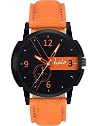 hala Analogue Black Dial Men's Watch - HL_1010